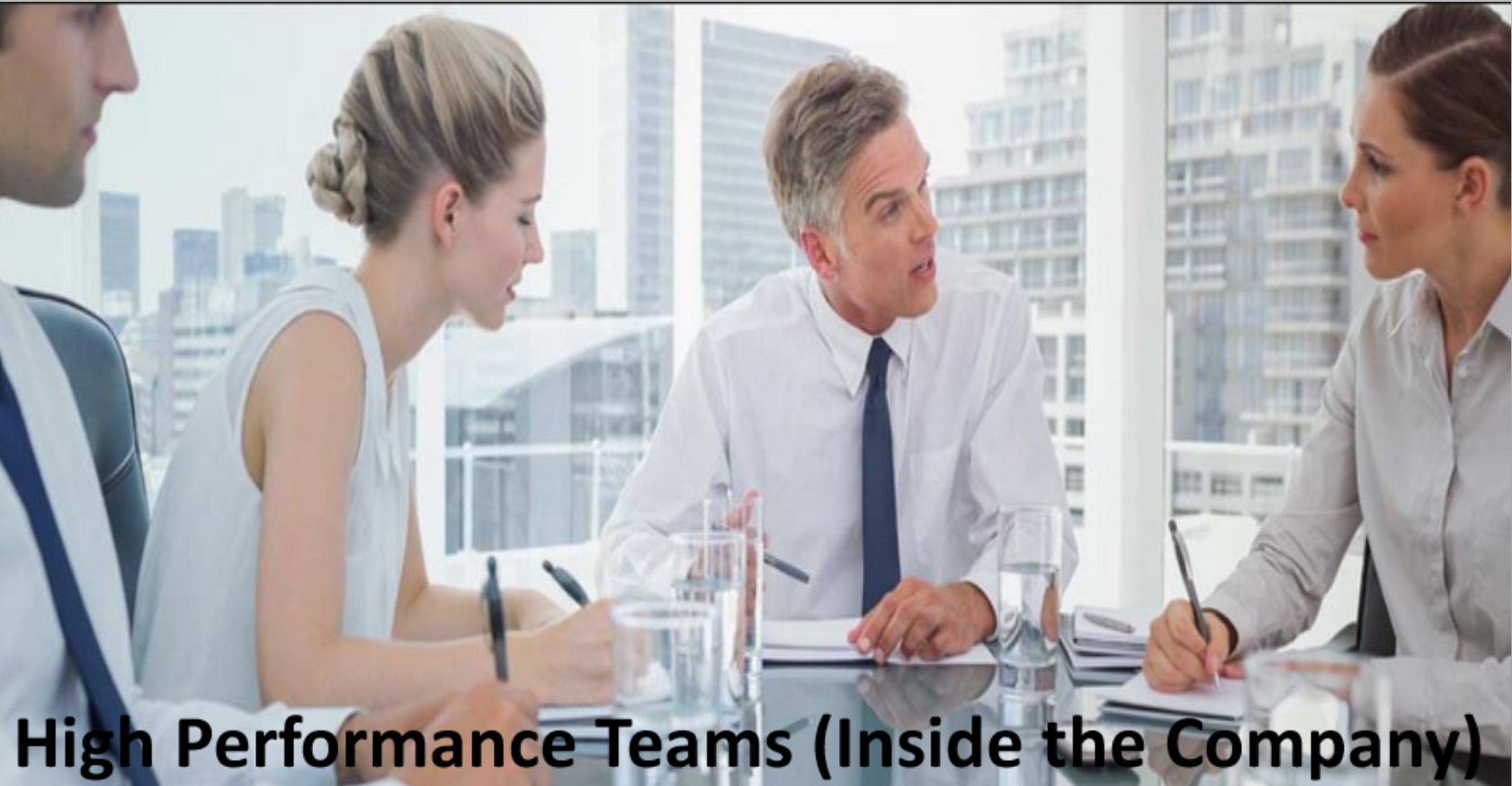 Building High Performance Teams (Internally)