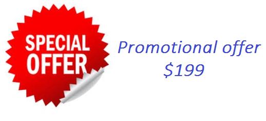 Promotion offer 199